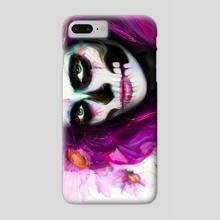 She, Dia de los Muertos - Phone Case by Jaimy Mokos
