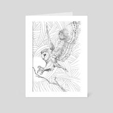 OWL. - Art Card by Josh Smith