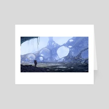 Bubble Planet - Art Card by Robert Bubel