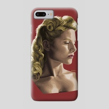 Shoshanna - Phone Case by Andy Wol