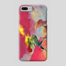 Doin Me A Space - Phone Case by Jocelyn Short