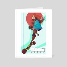 Boom Blast: Glitch - Art Card by Chase Nichol