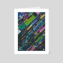 """WWP 145 """"GradientX"""" - Art Card by Martin Naumann"""