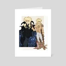 Jareth - Art Card by NaomiMakesArt