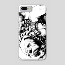 Jetpack Dog | Bulldog - Phone Case by Gregory Titus