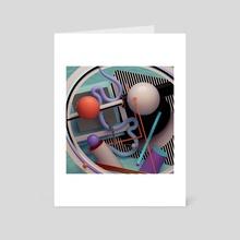 plasma flow - Art Card by Ygor Dimas