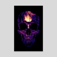 Skull 1 - Canvas by Nikita Abakumov