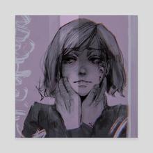 Kugisaki Nobara - Canvas by lekkiti