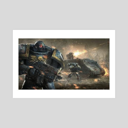 Warhammer Assault by aidan wilson