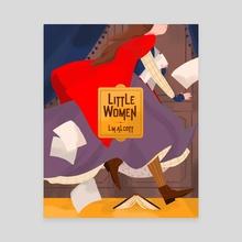 Little Women - Canvas by Nan Lawson
