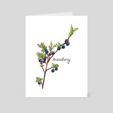 Bilberry (Treachery) - Art Card by Elizabeth Simins