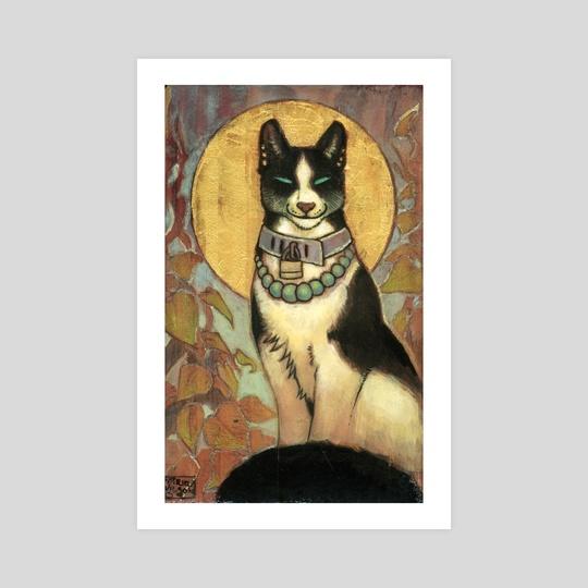 Cat Totem by Bazteki
