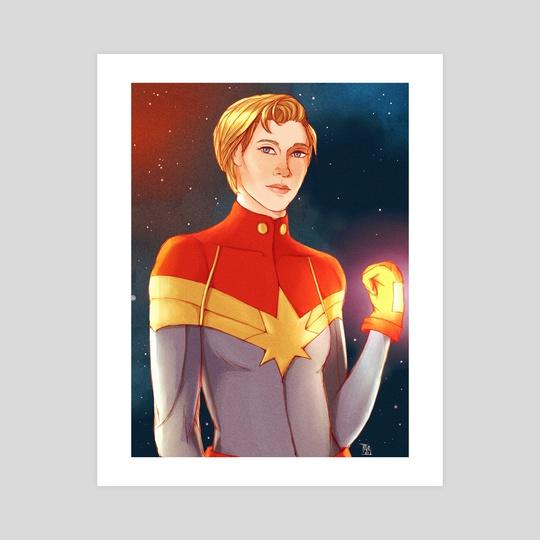 Captain Marvel by Terri S.
