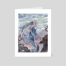 Cold wind - Art Card by Natalia Akopyan