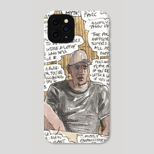 Columbian former military officer - Phone Case by Dan Archer