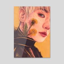Baekhyun x dandelion - Acrylic by Taemintbonbon