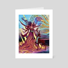 Ziora - Art Card by Rene Arreola