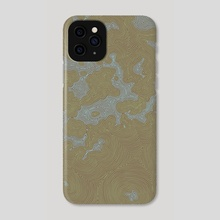 Land and Sea: Two - Phone Case by Aleta Pérez