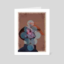 Doppelganger - Art Card by Tania Kuzilova