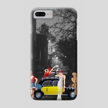 TO THE MUSEUM - Phone Case by Gloria Sánchez