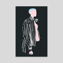Fashion Illustration 7 - Canvas by Ala Lee
