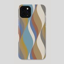 Waves 21 - Phone Case by Chris Foulkes