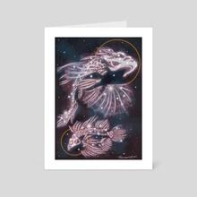 "Celestial Pools - Art Card by L.F. ""Björncrantz"" Danko"
