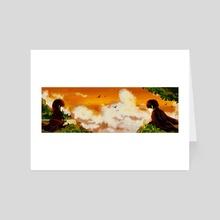 Memories of Love - Art Card by Raina Raina