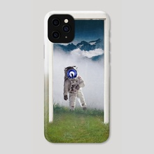 Portal to the Astronaut - Phone Case by Anthony Londer