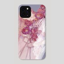 purple - Phone Case by seonju