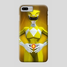 Yellow Ranger - Phone Case by Jonathan Lam