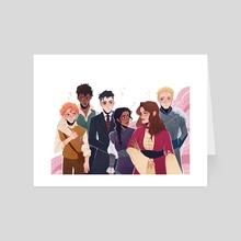 Six of Crows - Art Card by Iparwing