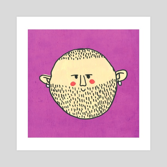 Bearded Fellow by Tanya Doodles