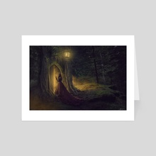 The Veil of Dreams - Art Card by Jonathan McFerran