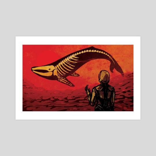 Murmuration (Red) by Rhiannon R-S