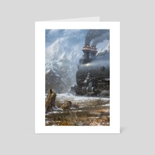 To The Pass - Art Card by Mark Molchan