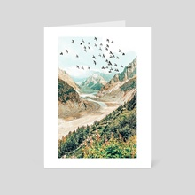 Apricity II - Art Card by 83 Oranges