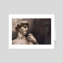 David - Michelangelo - Art Card by Arte Impressao