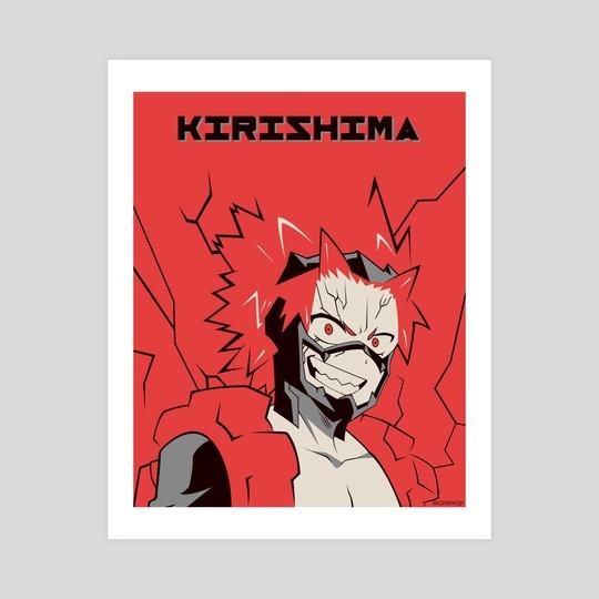 Kirishima Poster by Kazi Sakib