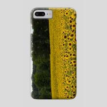 Sunflower Field - Phone Case by Ashley Gedz