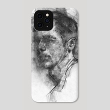 Sketch Head 05.25.17 - Phone Case by Damian Goidich
