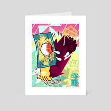 PHANTASMAGORIA  - Art Card by Tarantuga