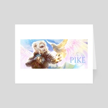 Pike - Art Card by Jessica Nguyen