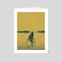 hiding - Art Card by Ertistt