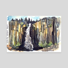 Palisade Falls  - Canvas by Emily Martin