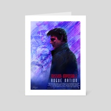 Mission Impossible - Rogue Nation - Art Card by Ladislas Chachignot
