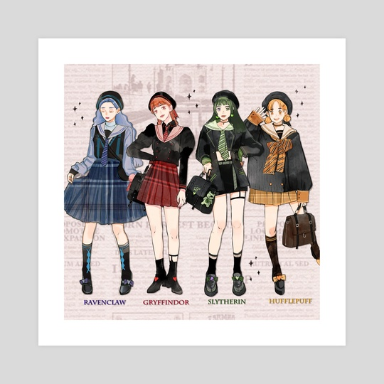 Hogwarts Girls by Jii 97