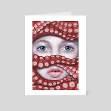 Tentacles - Art Card by Eda Herz
