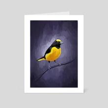 Euphonia - Art Card by Indré Bankauskaité
