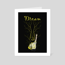 Dream - Art Card by Muhammad Sidik